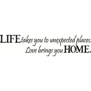 life takes you