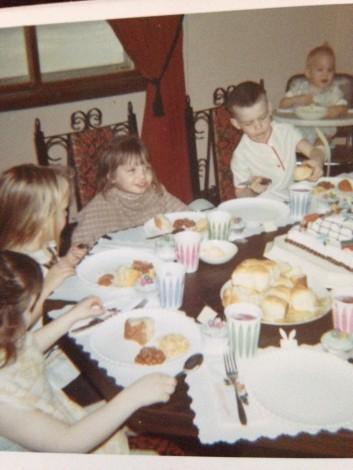 Grandma Helen's dining room